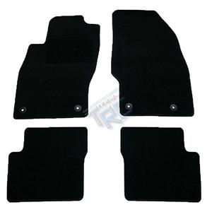 4 tapis sol moquette noir specifique opel corsa d 2006 2014 1 6 turbo opc gsi ebay
